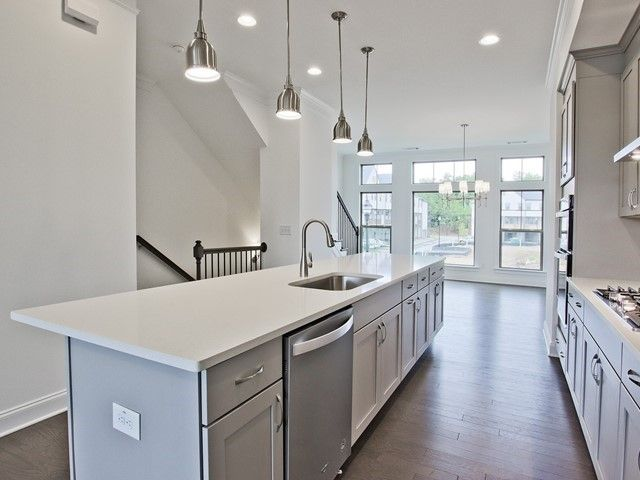 Kitchen featured in the Allegro By Ashton Woods in Atlanta, GA