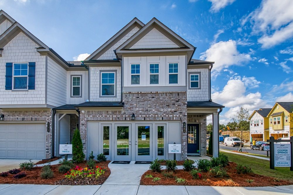 Exterior featured in the Valetta By Ashton Woods in Atlanta, GA