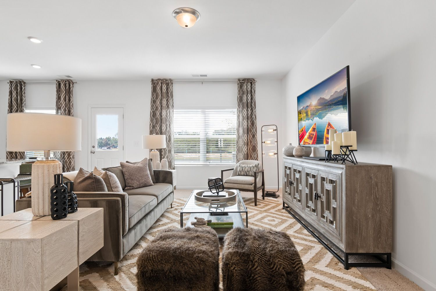 Living Area featured in the Valetta By Ashton Woods in Atlanta, GA