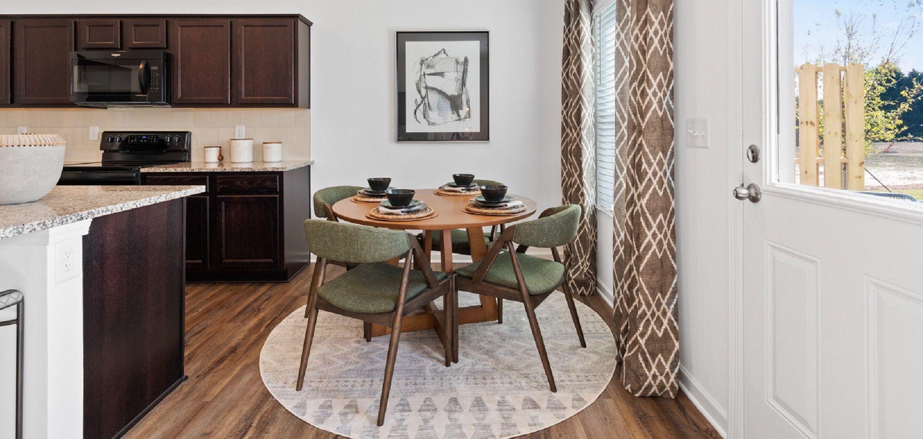 Kitchen featured in the Valetta By Ashton Woods in Atlanta, GA