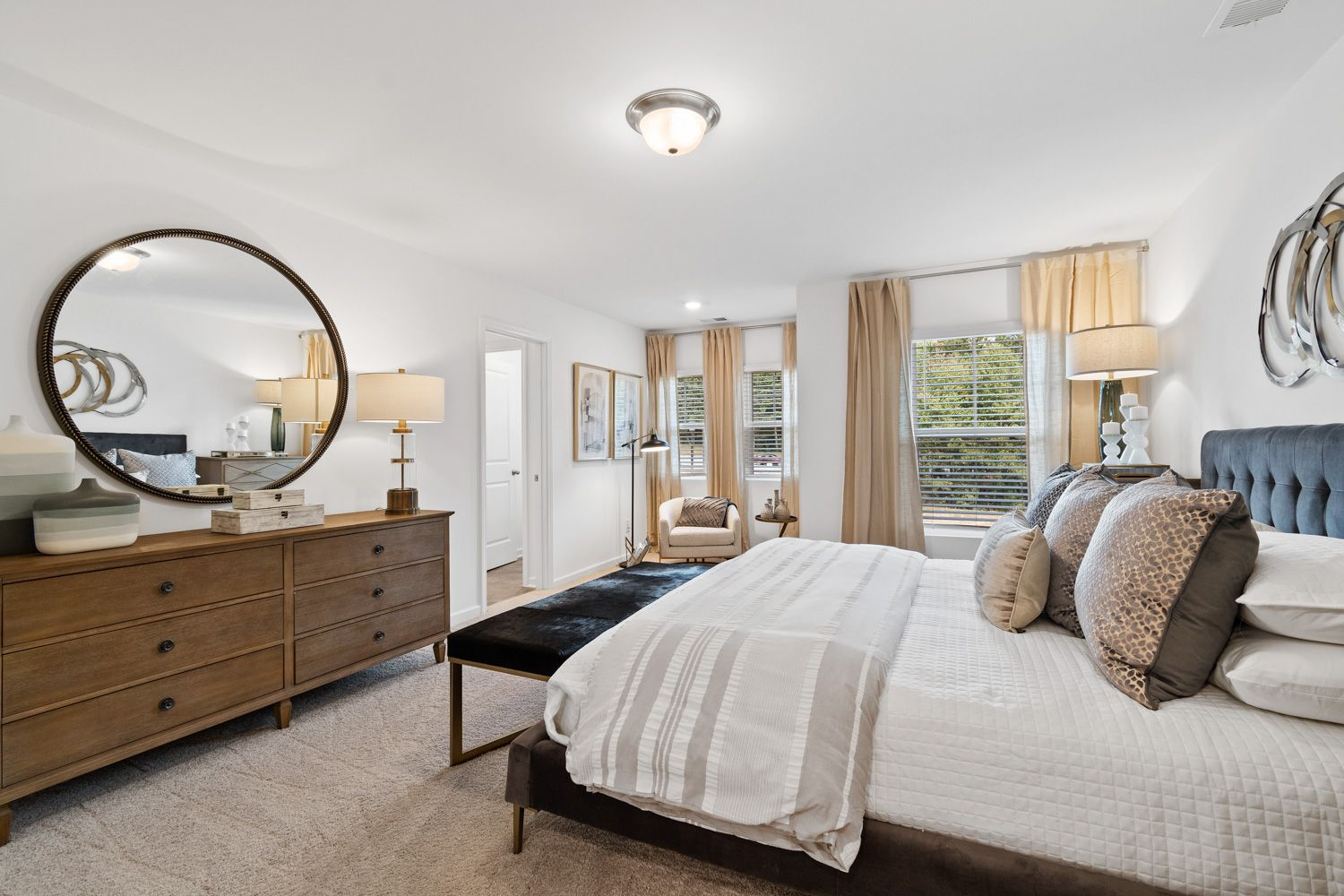 Bedroom featured in the Valetta By Ashton Woods in Atlanta, GA
