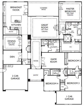 Graystone In Gilbert Az New Homes Floor Plans By Ashton Woods Homes