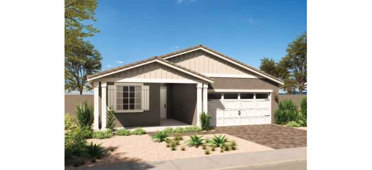 Exterior featured in the Ashley By Ashton Woods in Phoenix-Mesa, AZ