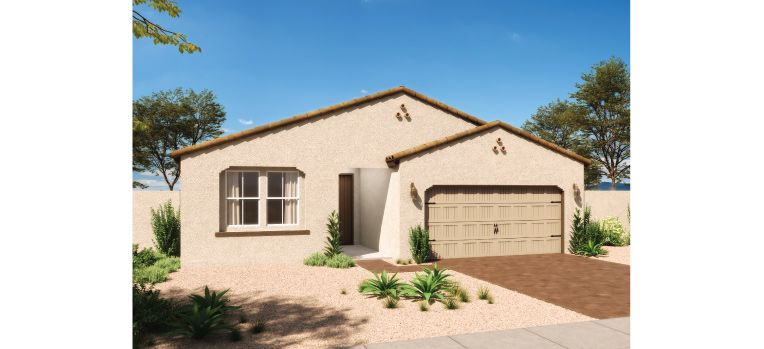 Exterior featured in the Claridge By Ashton Woods in Phoenix-Mesa, AZ