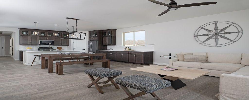 Living Area featured in the Claridge By Ashton Woods in Phoenix-Mesa, AZ