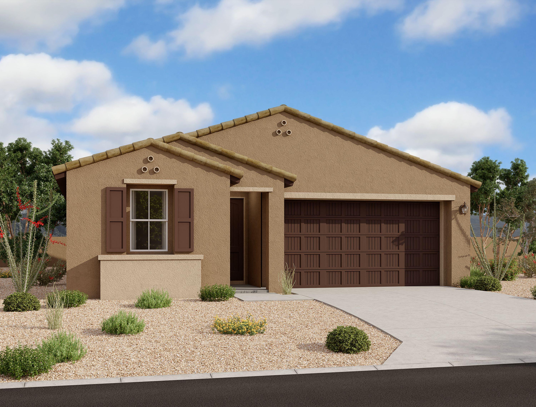 Exterior featured in the Primrose By Ashton Woods in Phoenix-Mesa, AZ
