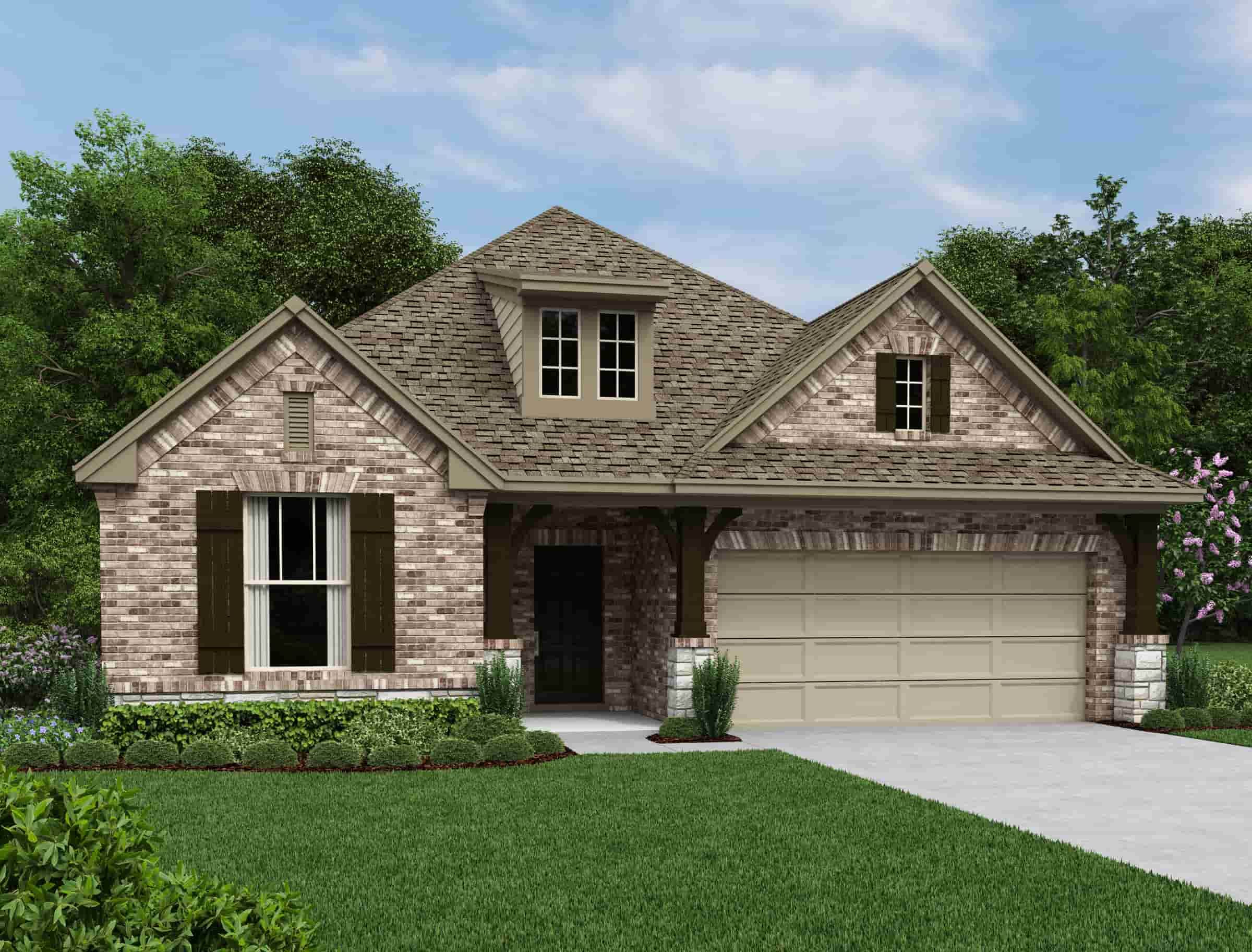 'Cielo Ranch 50's' by Ashton Woods Homes-San Antonio in San Antonio