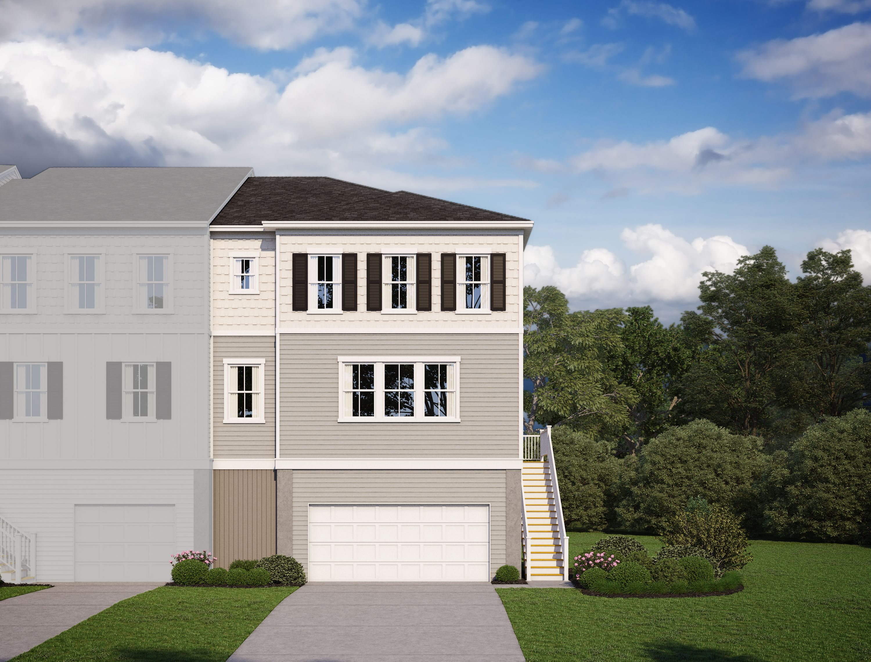 Marsh View Townhomes In Johns Island, SC, New Homes