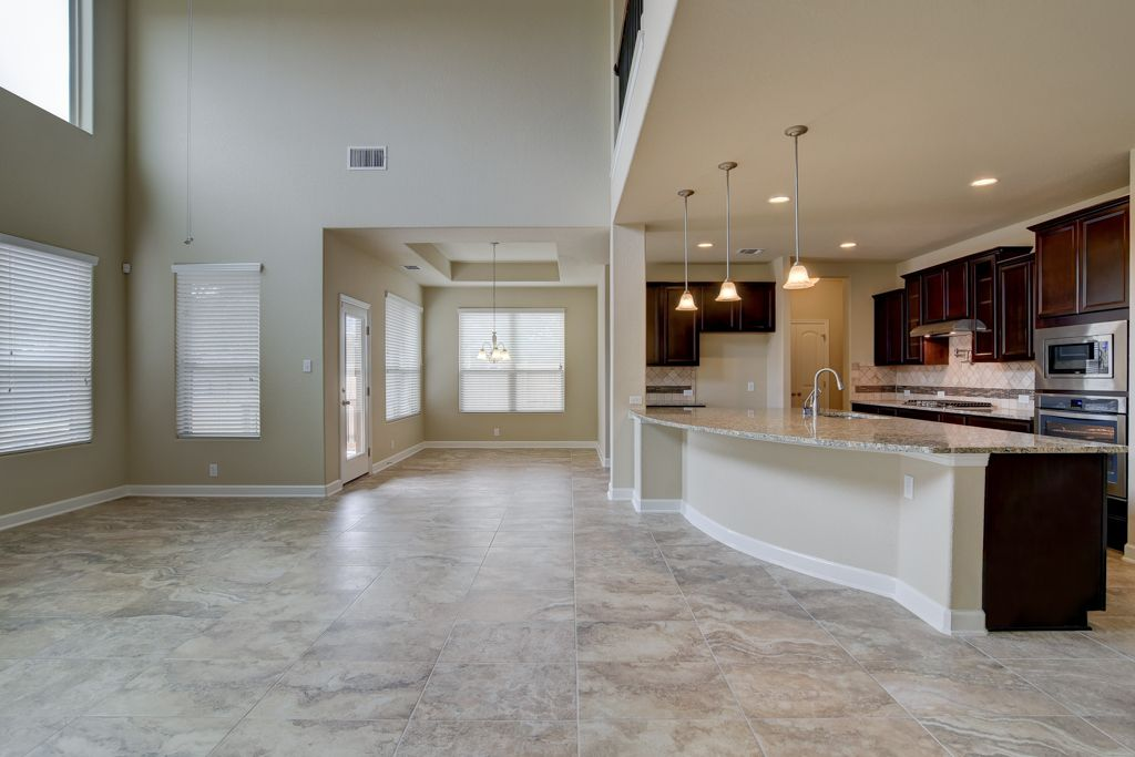 Kitchen-in-Trinity-at-Meyer Ranch-in-New Braunfels