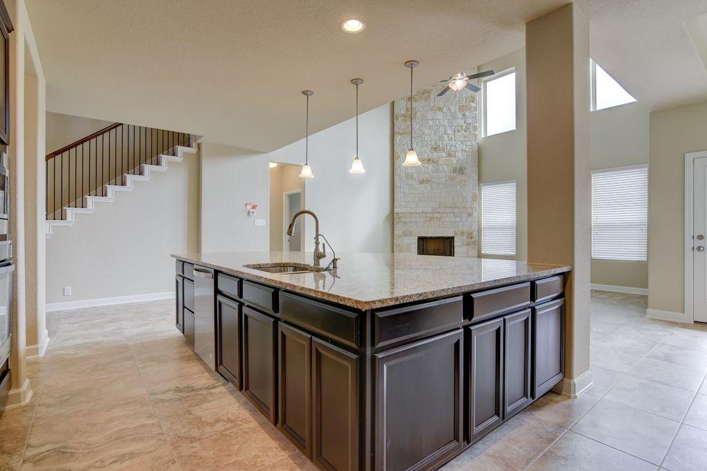 Kitchen-in-Trinity-at-Meyer Ranch-in-New Braunfels