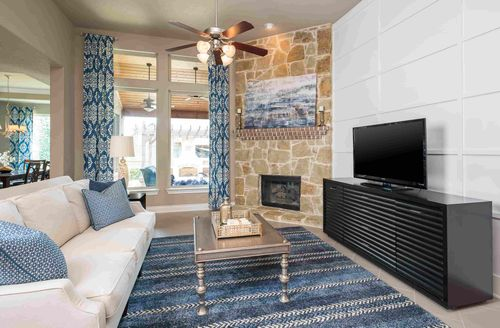 Greatroom-and-Dining-in-Guillermo-at-Woods of Boerne-in-Boerne