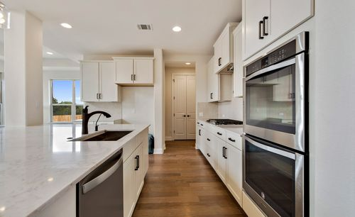 Kitchen-in-Bethany-at-Summit at Lake Travis-in-Spicewood