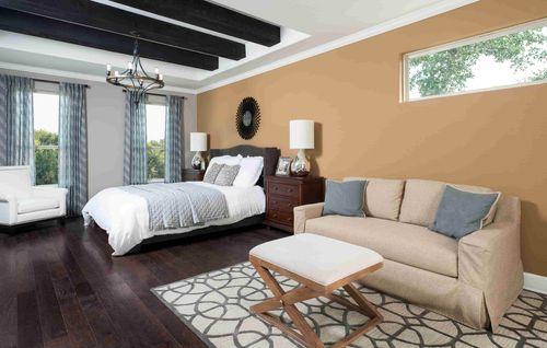 Bedroom-in-Milam-at-Kinder Ranch-in-San Antonio