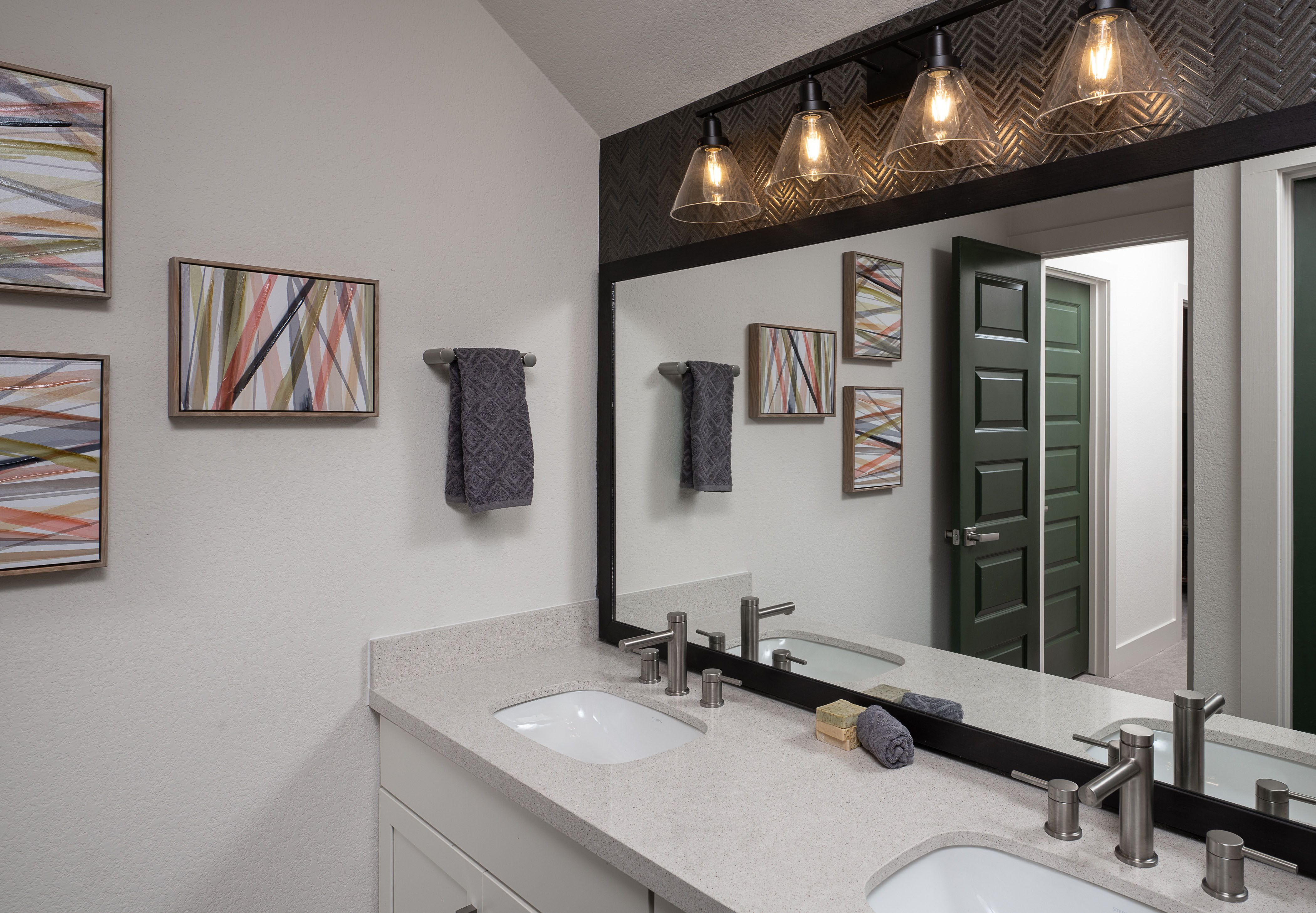 Bathroom featured in the Westlake By Ashton Woods in Austin, TX