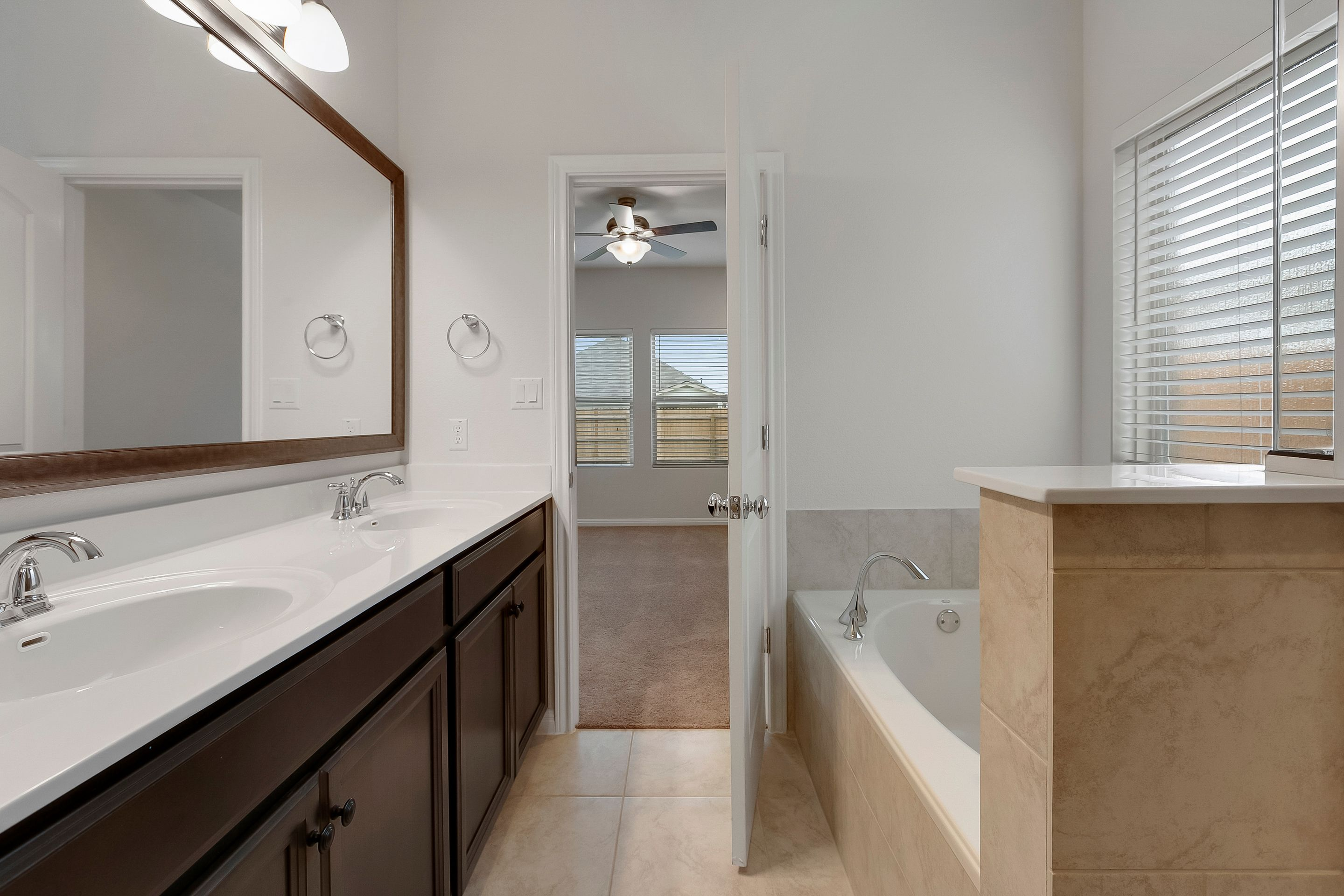 Bathroom featured in the Cambridge By Ashton Woods in Austin, TX