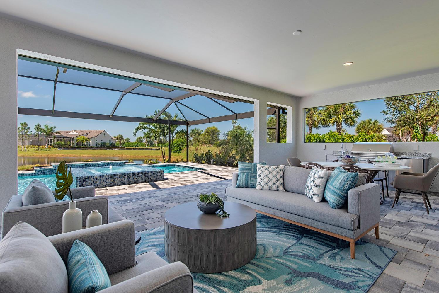 Exterior featured in the Navarra II By Ashton Woods in Naples, FL