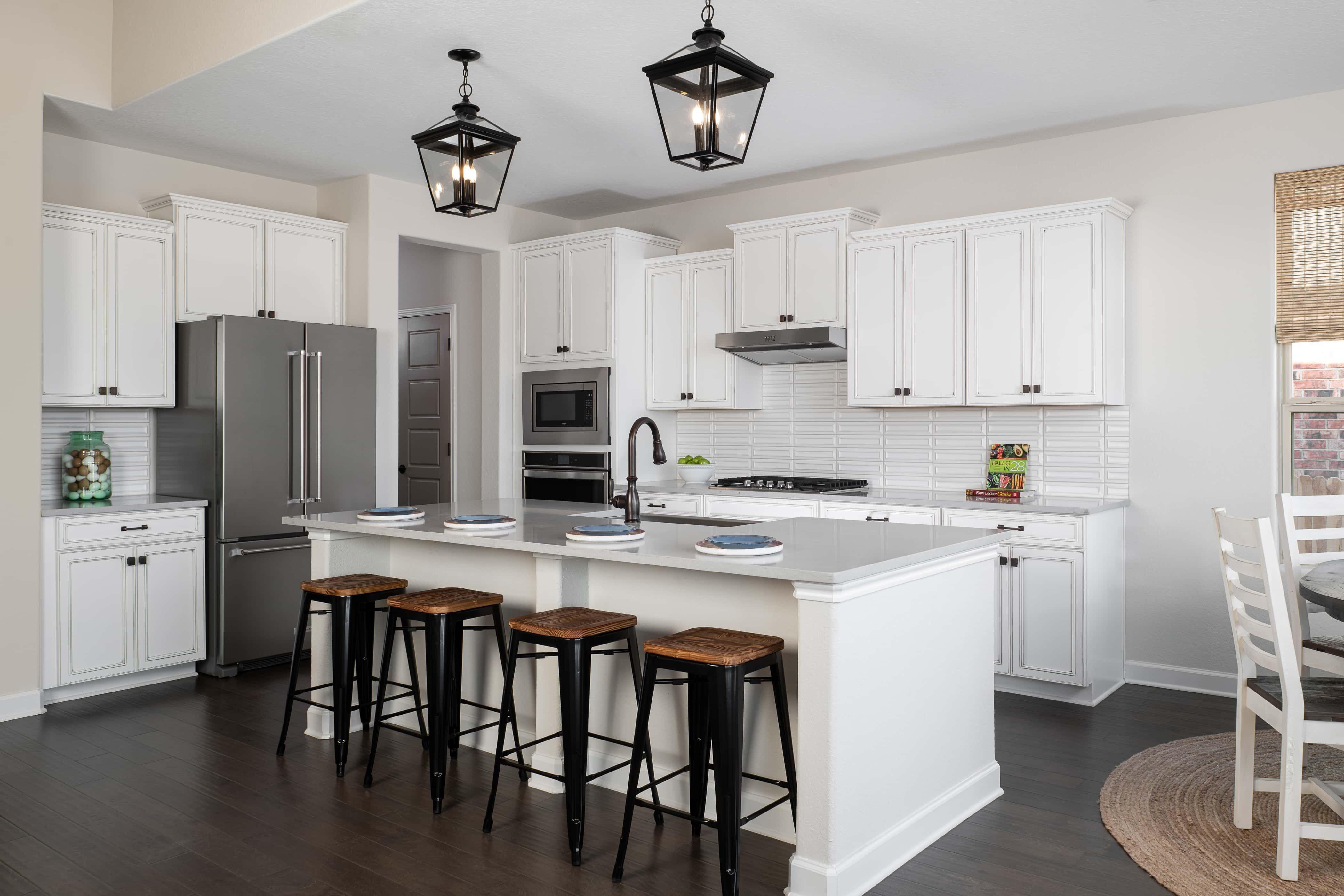 Kitchen featured in the Odessa By Ashton Woods in San Antonio, TX