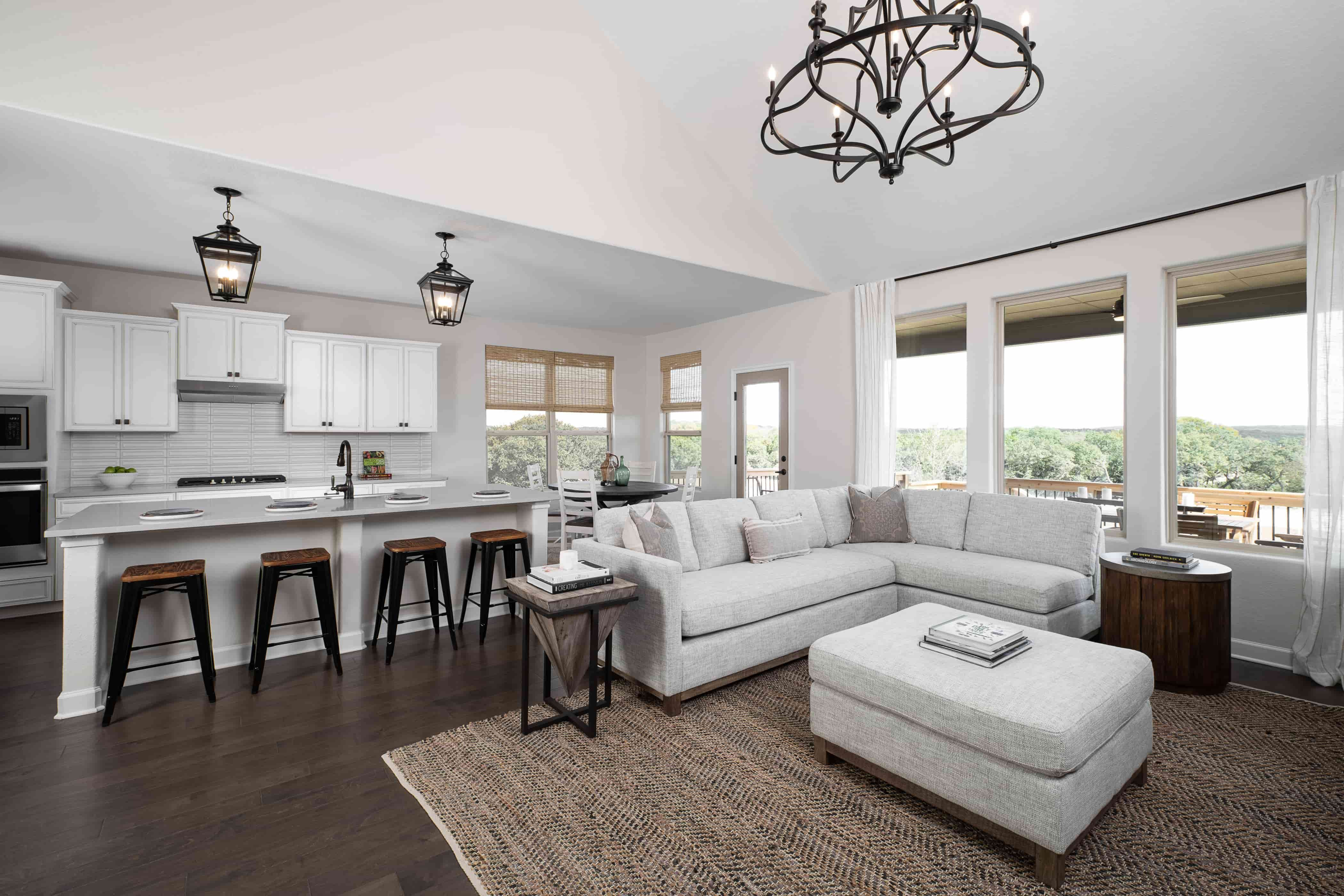 Living Area featured in the Odessa By Ashton Woods in San Antonio, TX