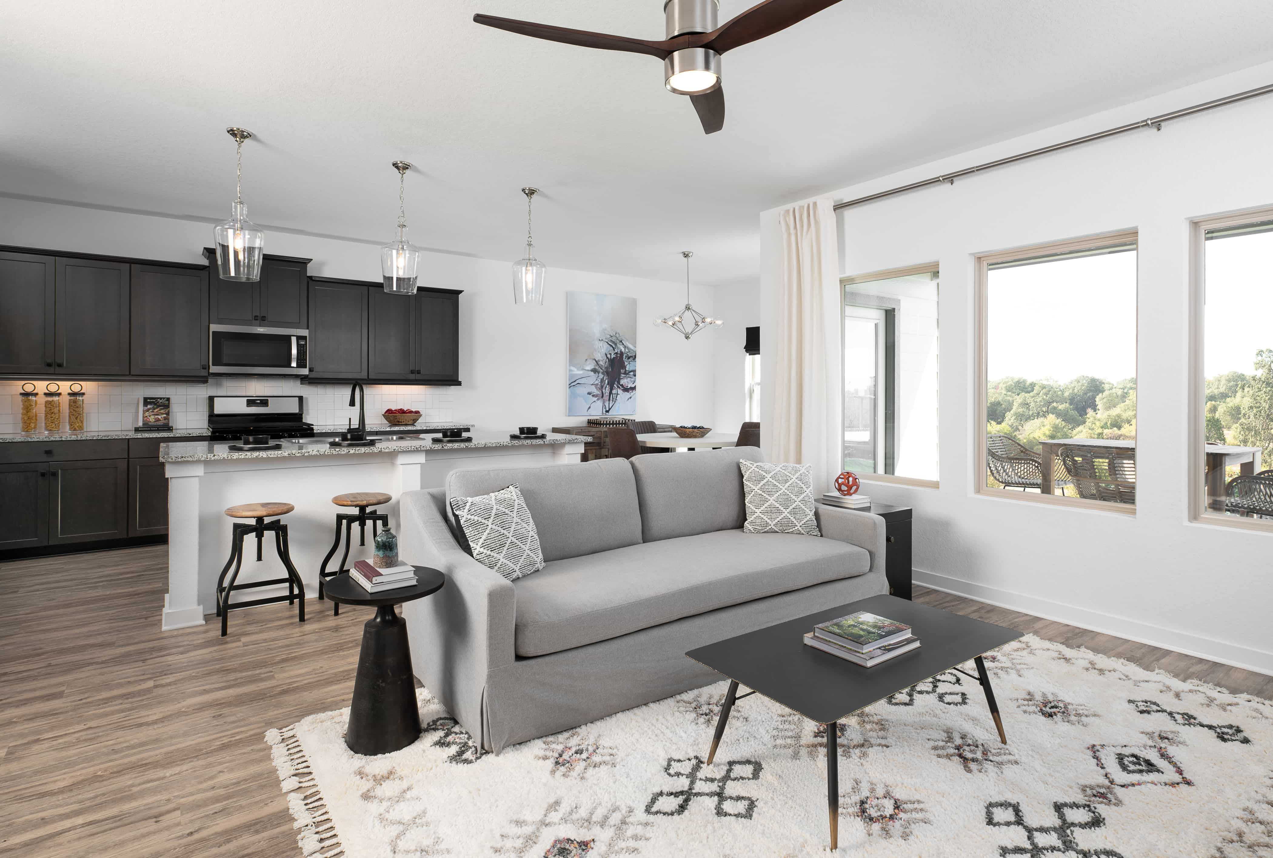Living Area featured in the Jordan By Ashton Woods in San Antonio, TX