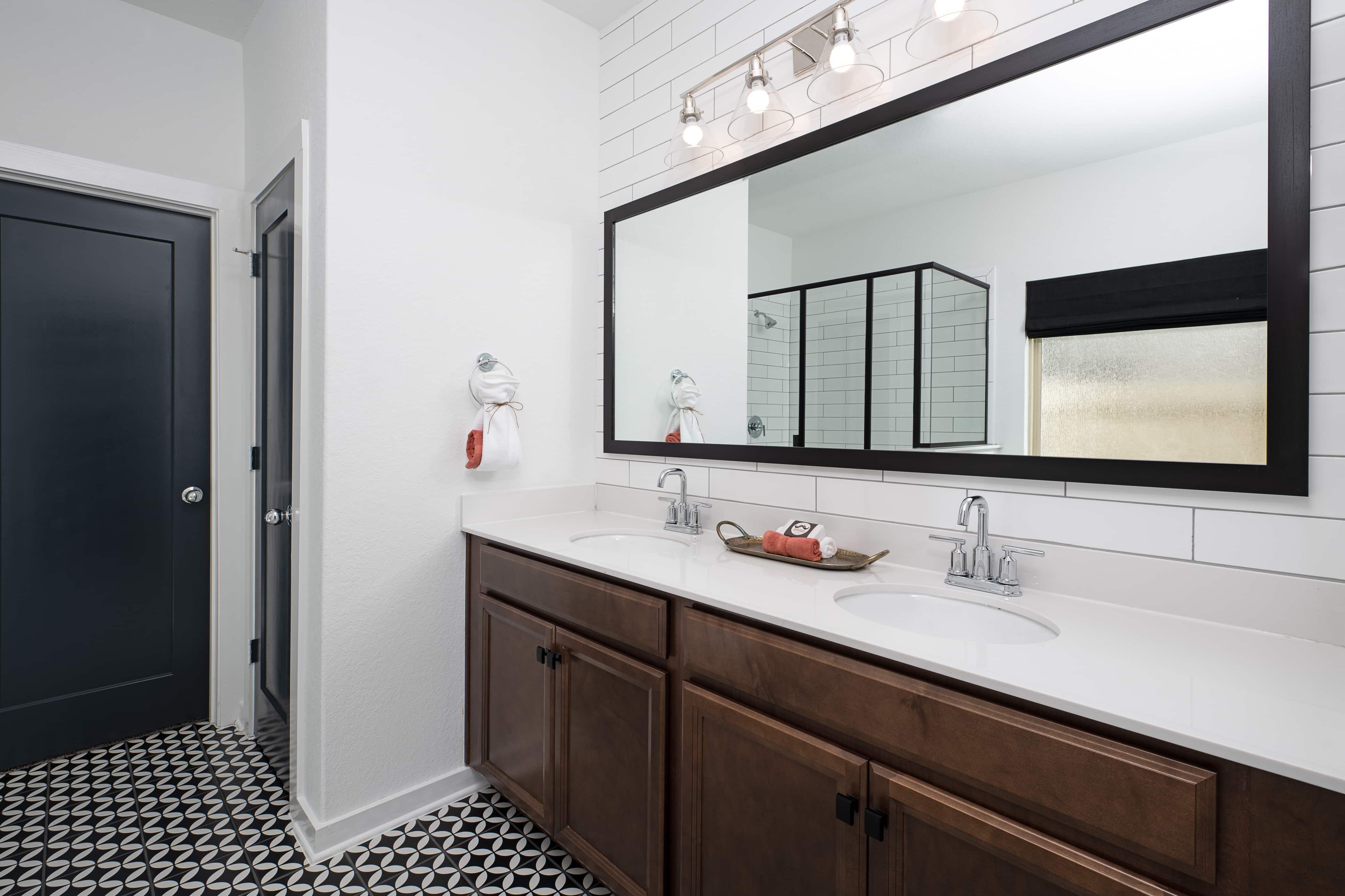 Bathroom featured in the Jordan By Ashton Woods in San Antonio, TX