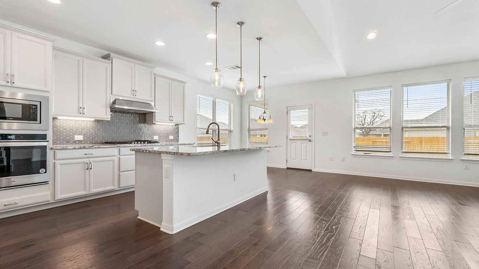Kitchen featured in the Thornton By Ashton Woods in Austin, TX