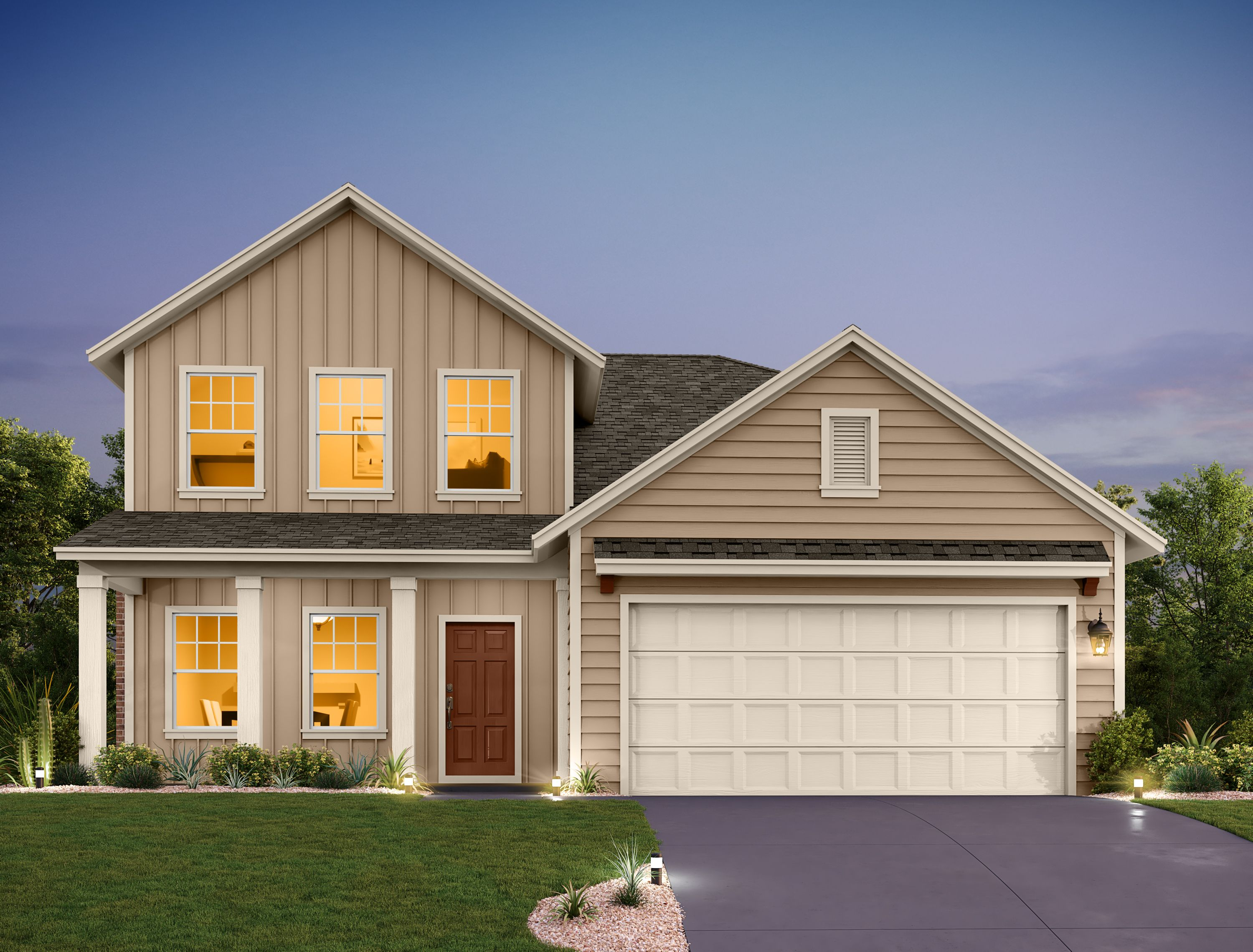 Exterior featured in the Winchester By Ashton Woods in Austin, TX