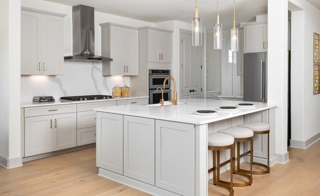 Kitchen featured in the William By Ashton Woods in Austin, TX