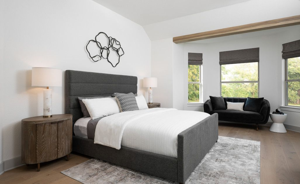 Bedroom featured in the William By Ashton Woods in Austin, TX