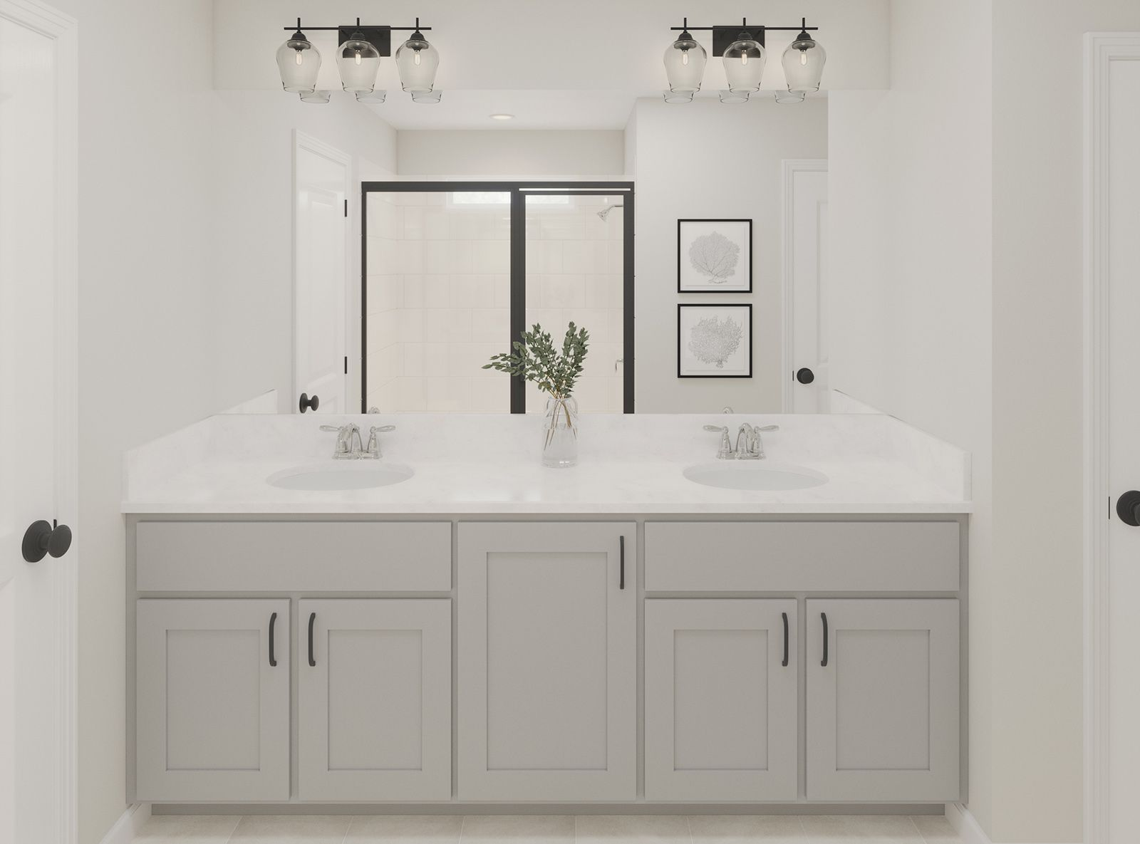 Bathroom featured in the Antigua By Ashton Woods in Charleston, SC