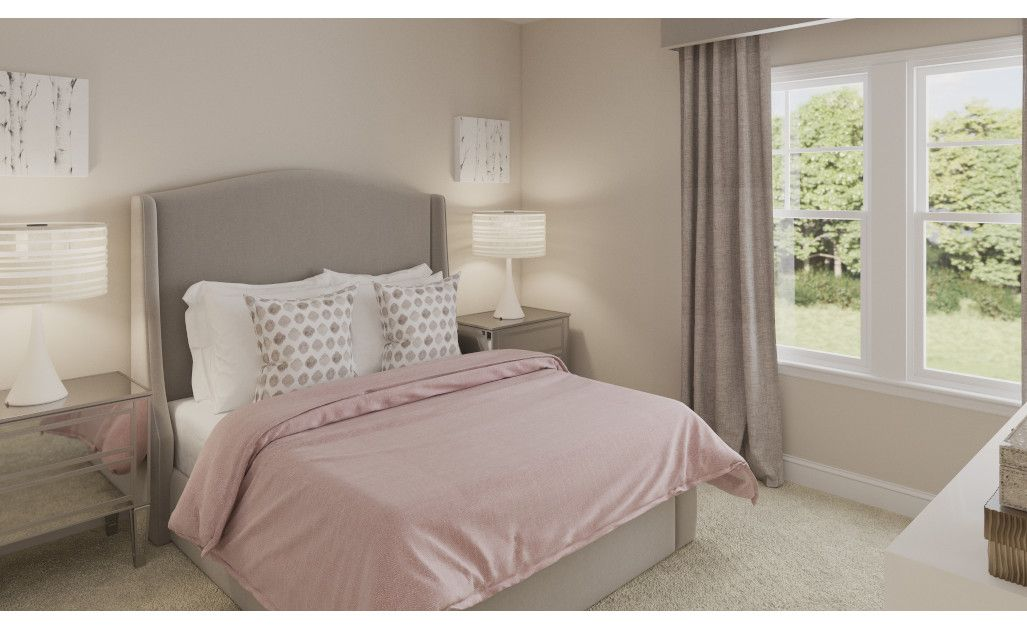 Bedroom featured in the Jackson By Ashton Woods in Raleigh-Durham-Chapel Hill, NC