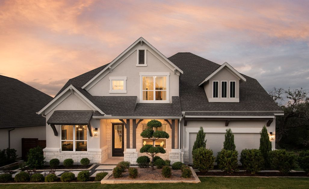 Exterior featured in the Hathaway By Ashton Woods in Austin, TX