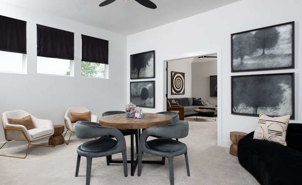 Living Area featured in the Hathaway By Ashton Woods in Austin, TX