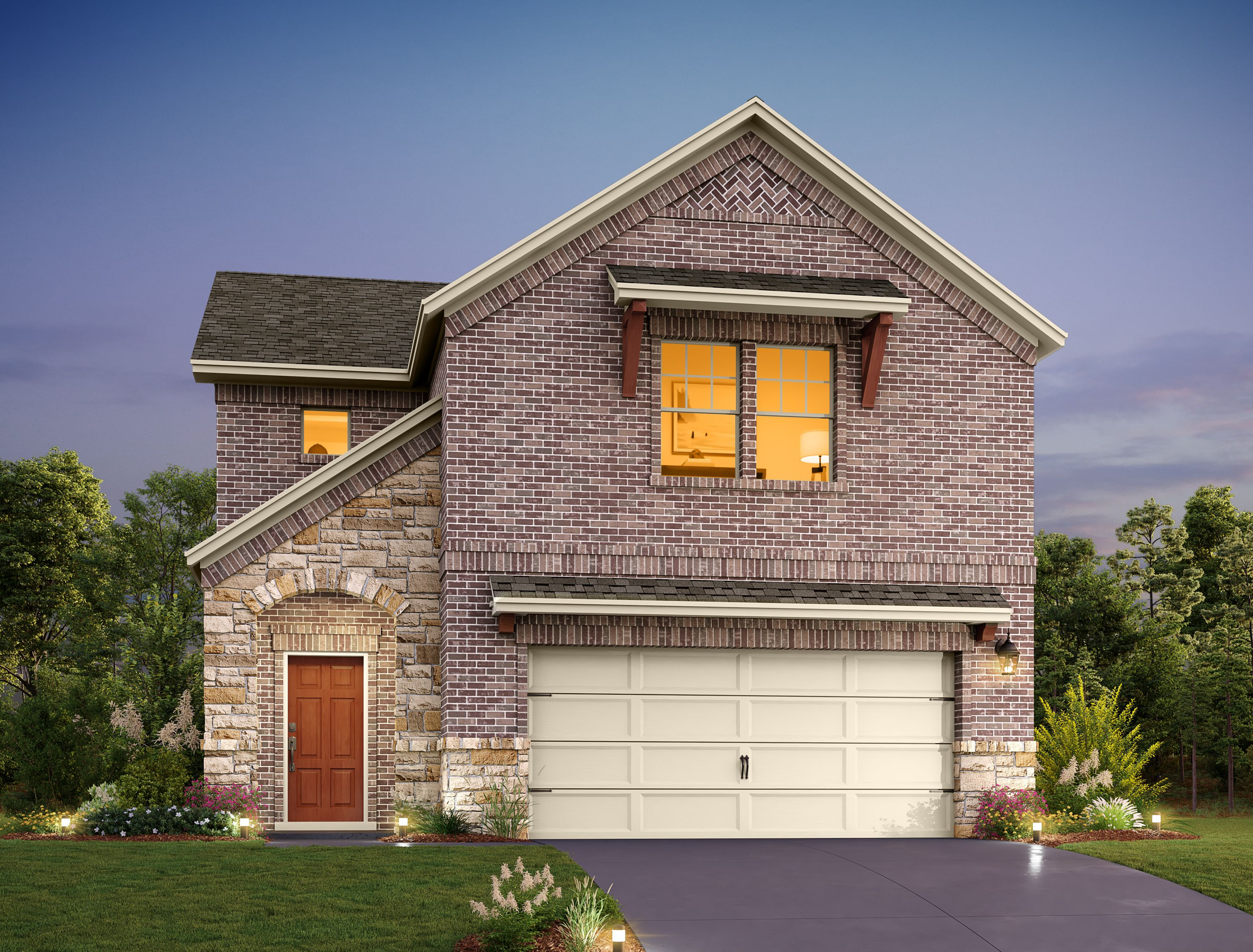 Exterior featured in the Barton By Ashton Woods in Austin, TX