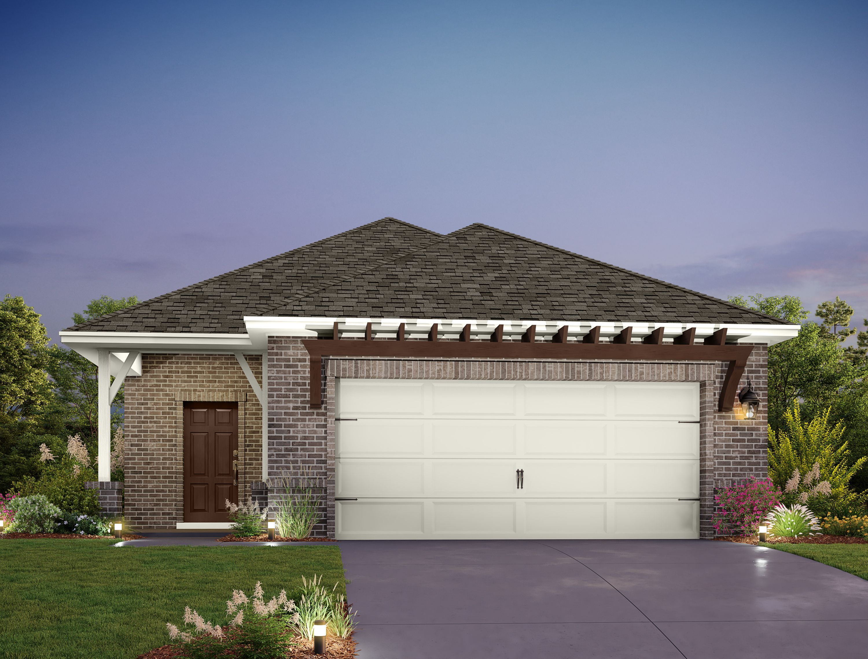 Exterior featured in the Buchanan By Ashton Woods in Austin, TX