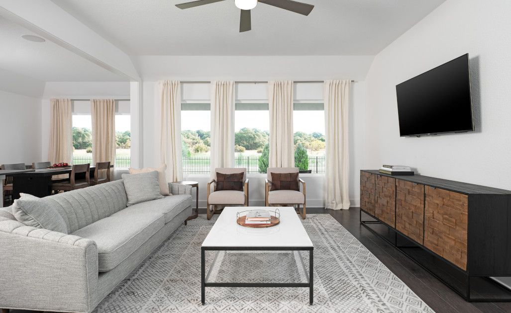 Living Area featured in the Manchester By Ashton Woods in Austin, TX