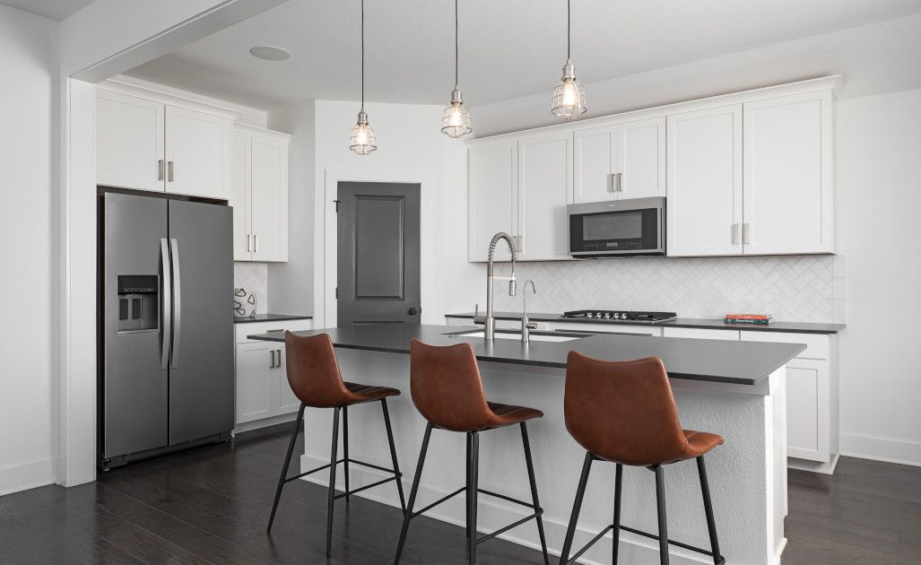 Kitchen featured in the Manchester By Ashton Woods in Austin, TX