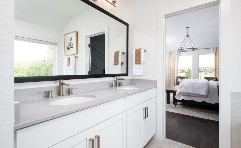 Bathroom featured in the Manchester By Ashton Woods in Austin, TX