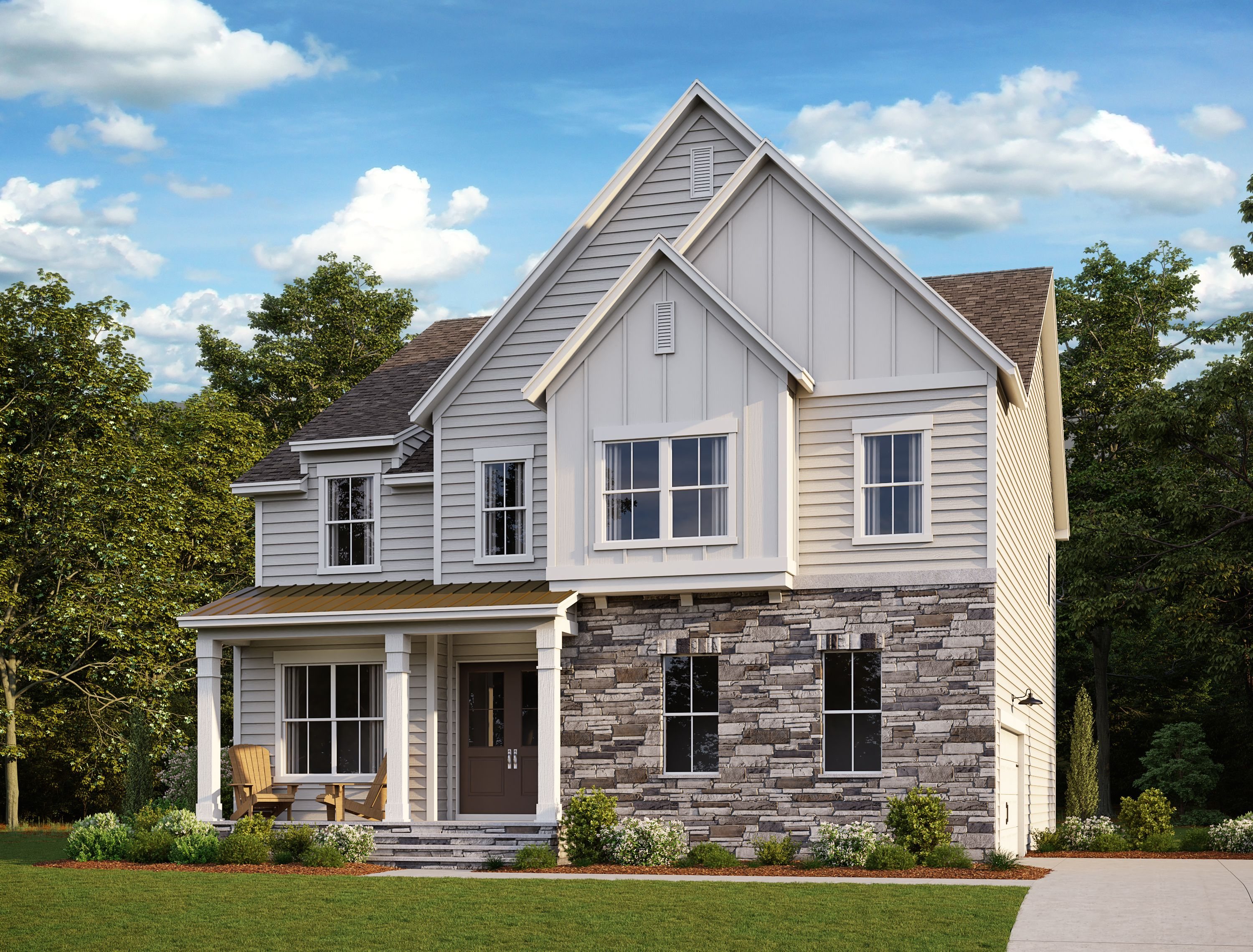 Exterior featured in the Meaghan By Ashton Woods in Raleigh-Durham-Chapel Hill, NC