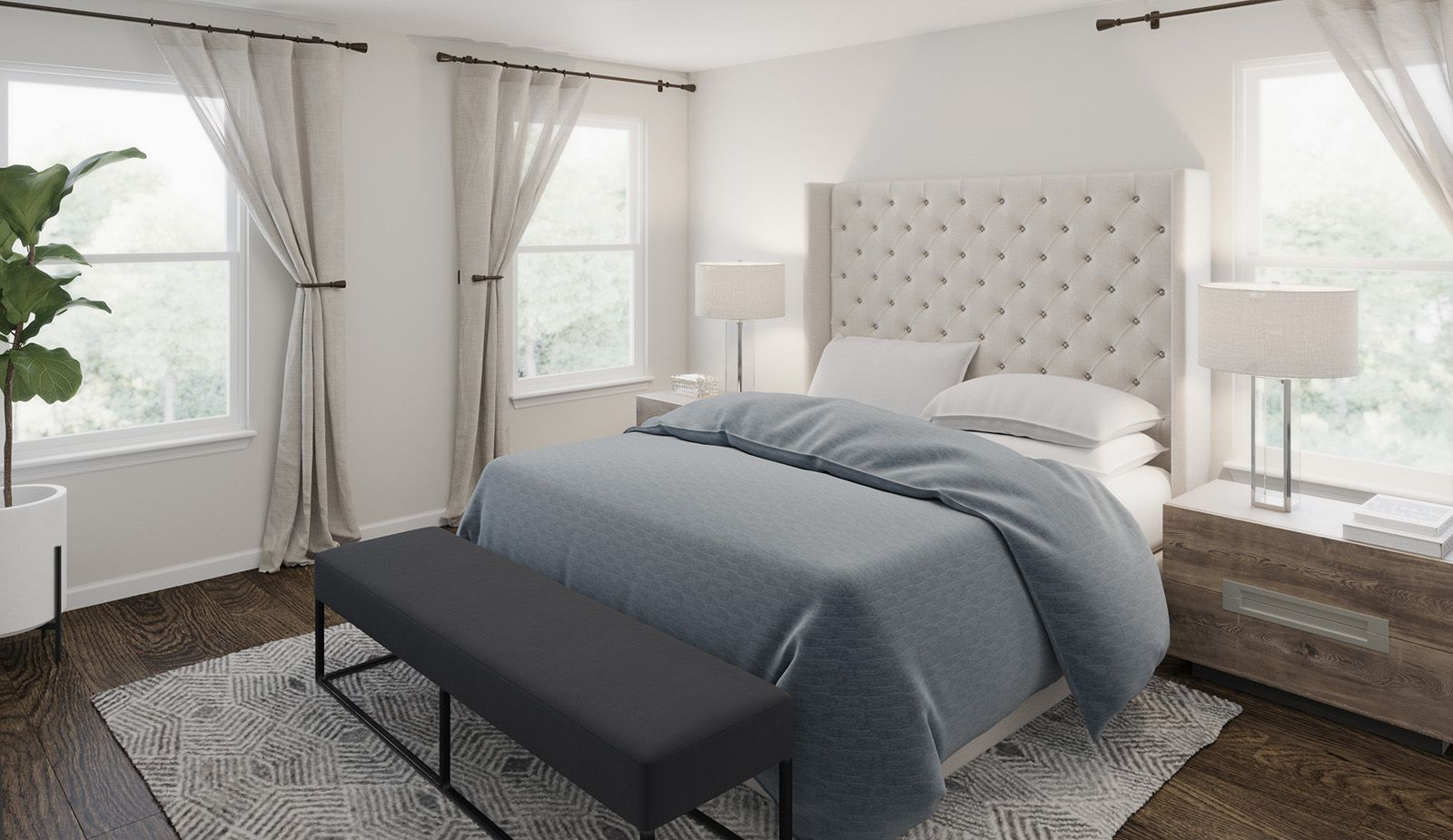 Bedroom featured in the Antigua By Ashton Woods in Charleston, SC