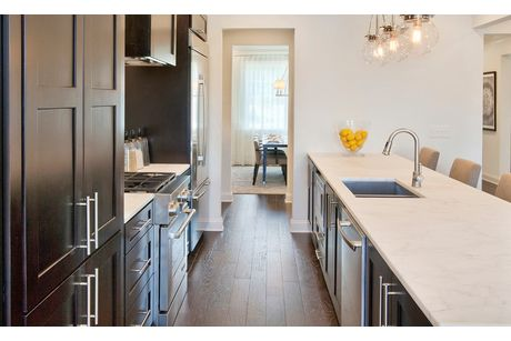 Kitchen-in-The Wheylon-at-Kildaire Crossing-in-Cary