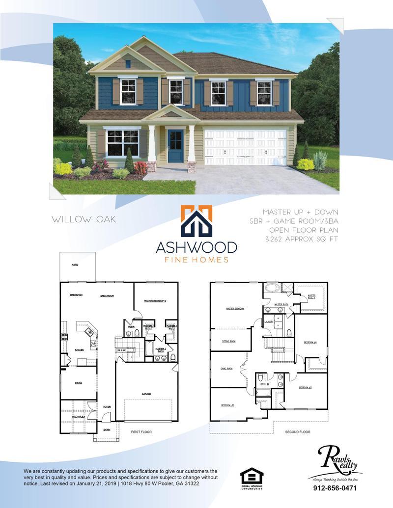 Willow Oak Home Plan by Ashwood Fine Homes in Ashwood Fine