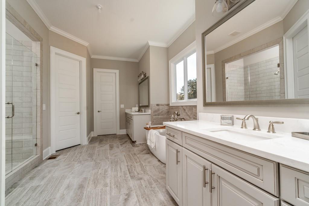 Bathroom featured in The Somerset Manor By Phoenix Custom Builders  in Atlanta, GA