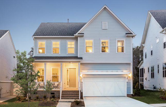 Exterior:Stonebrook Model Home