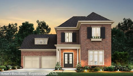 Everton in peachtree city ga new homes floor plans by for John wieland homes floor plans