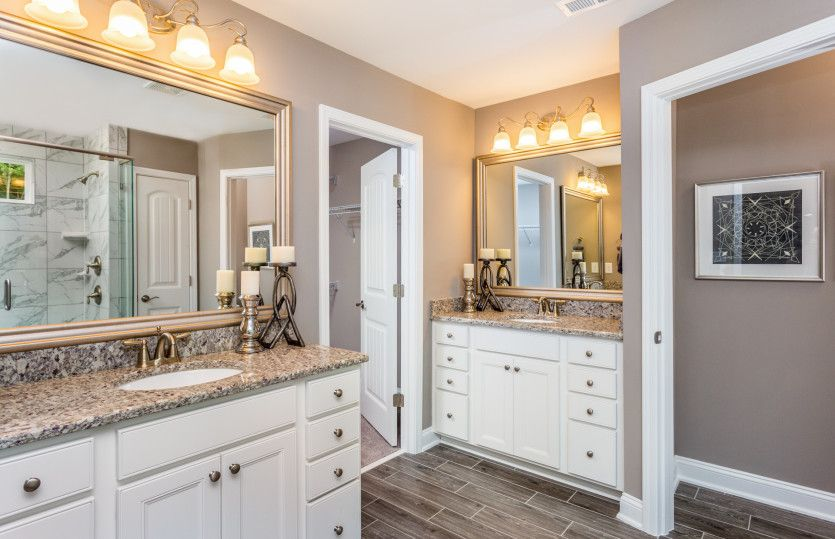 Bathroom featured in the Foxfield By John Wieland Homes in Raleigh-Durham-Chapel Hill, NC
