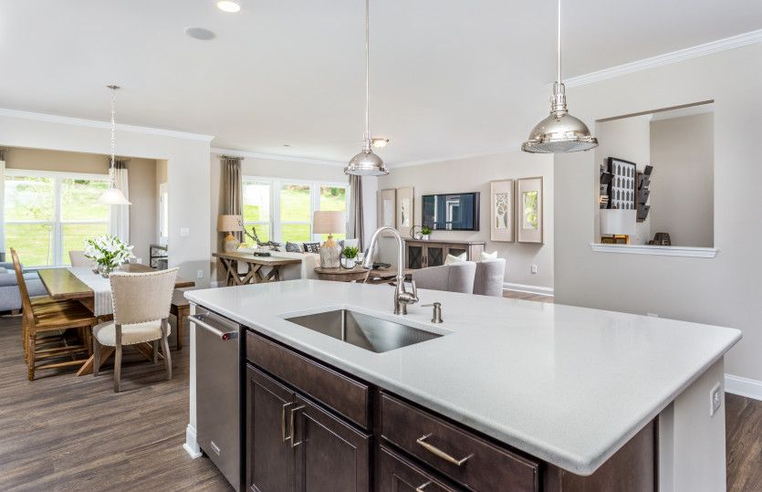 Living Area featured in the Foxfield By John Wieland Homes in Raleigh-Durham-Chapel Hill, NC