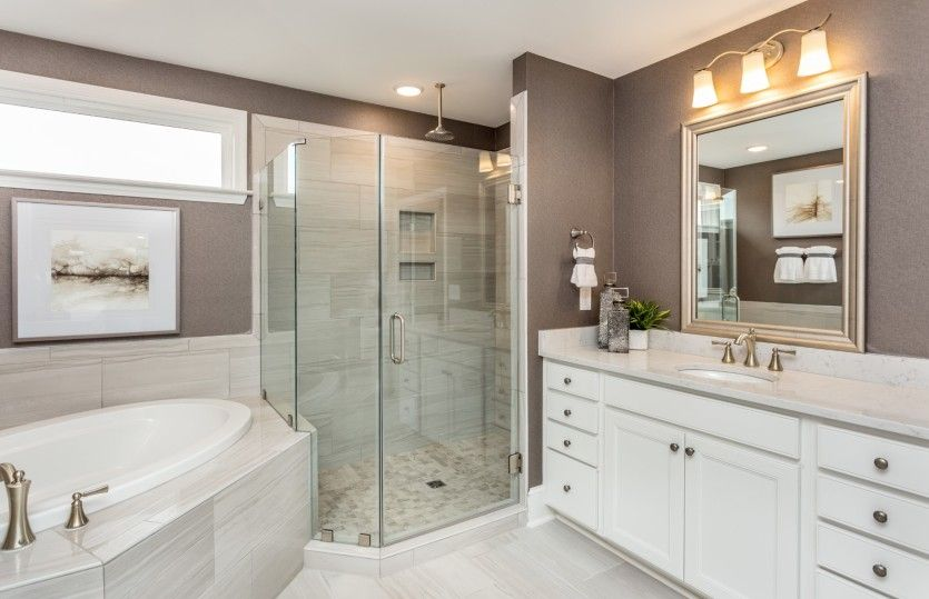 Bathroom featured in the Waterstone By John Wieland Homes in Raleigh-Durham-Chapel Hill, NC