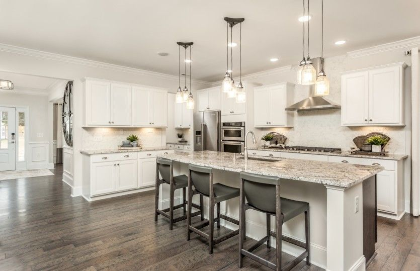 Kitchen featured in the Waterstone By John Wieland Homes in Raleigh-Durham-Chapel Hill, NC