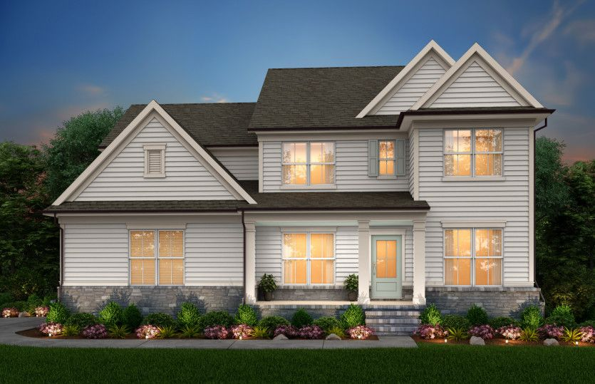 Exterior featured in the Wingate By John Wieland Homes in Raleigh-Durham-Chapel Hill, NC