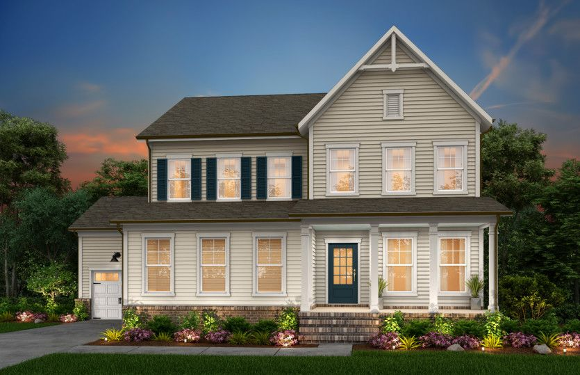 Exterior featured in the Continental By John Wieland Homes in Raleigh-Durham-Chapel Hill, NC